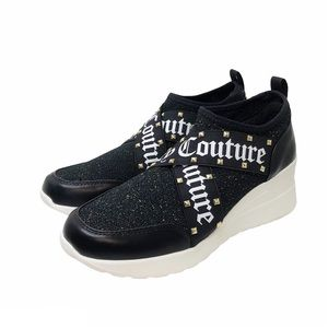 Juicy Couture Eros Studded Wedge Sneakers